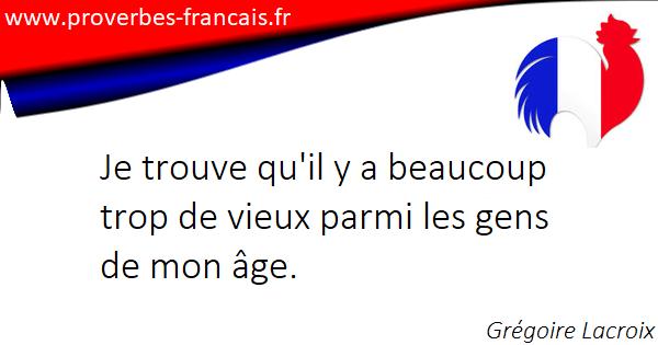 Citations âge 50 Citations Sur âge